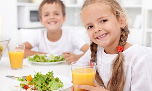 İyi Protein ile Güçlü Çocuklar
